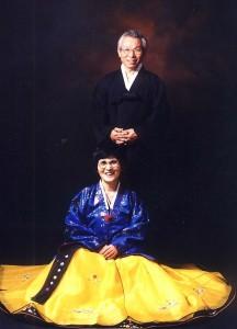 목사님 부부 사진